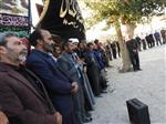 مراسم خاکسپاری و یادبود حاج علی اصغر بابا غیبی در ازغند
