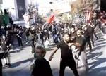 دسته زنجیر زنی ازغندی ها در مشهد