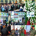 مراسم گرامیداشت سردار دلها سپهبد شهید حاج قاسم سلیمانی در ازغند برگزار شد