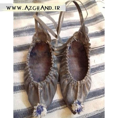 چارق از قدیمی ترین کفش های مورد استفاده در روستای ازغند