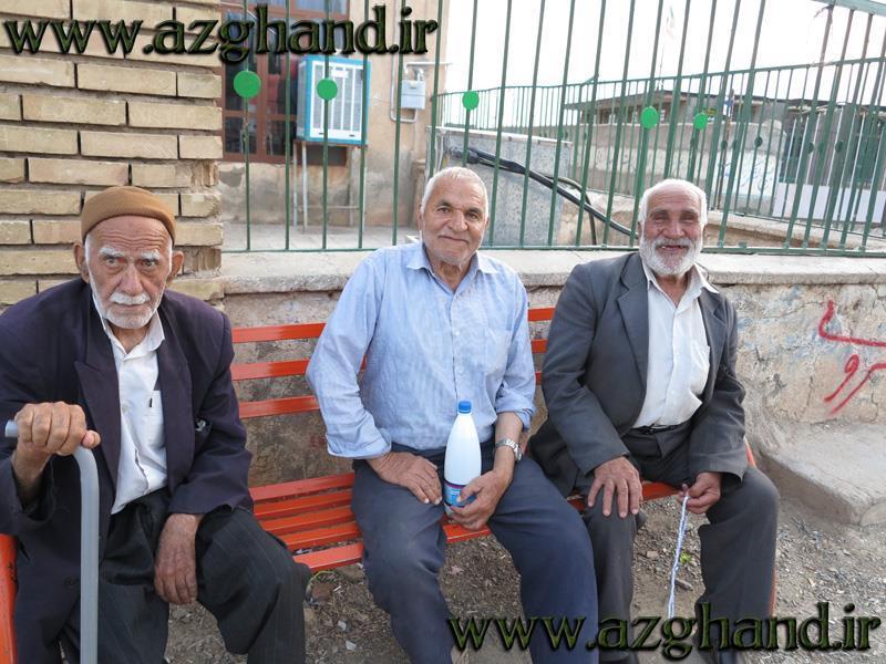 سالخوردگان روستای ازغند3