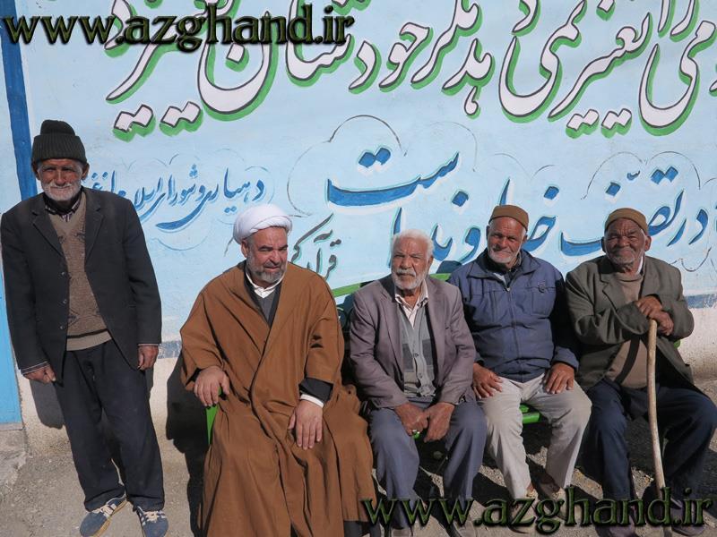 سالخوردگان روستای ازغند6